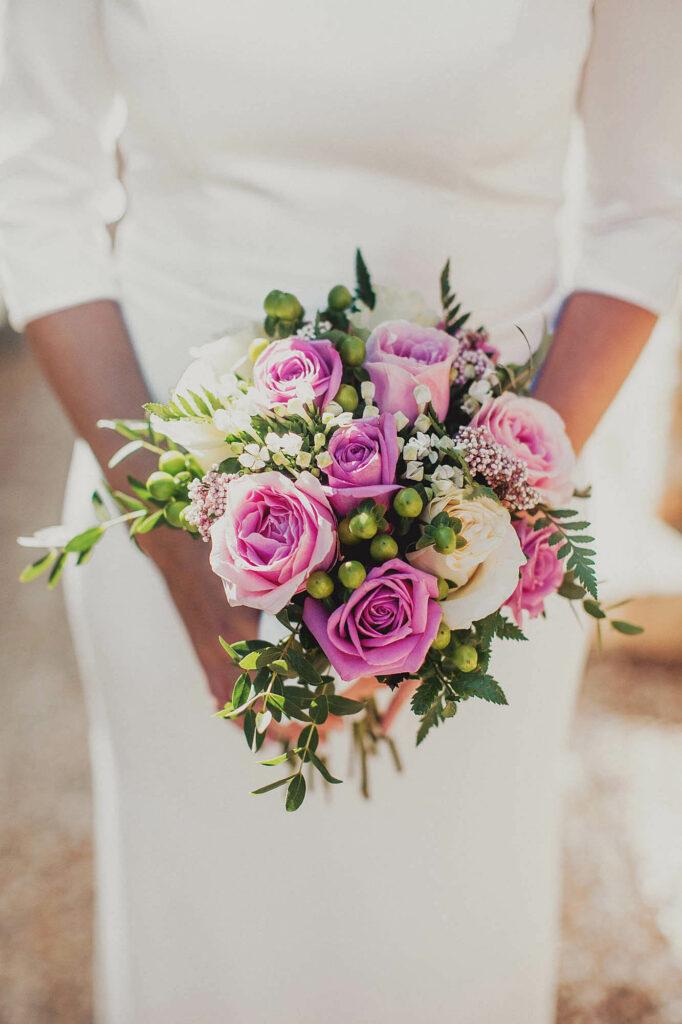 Celebrar boda en toledo El Cigarral de las mercedes - bouquet