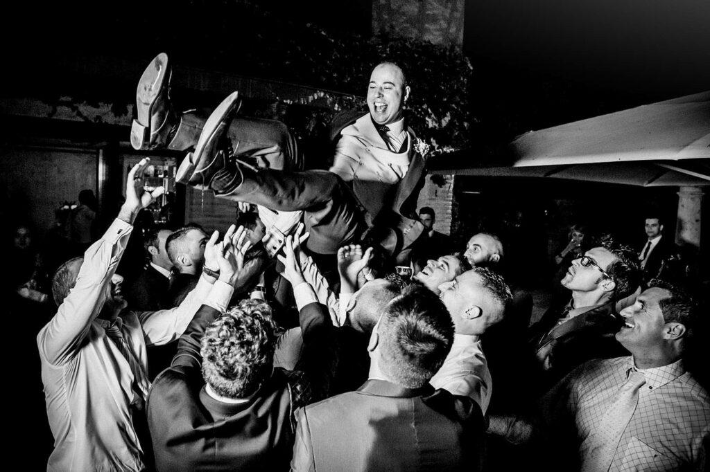 Celebrar una boda en toledo con detalles Barra libre el cigarral