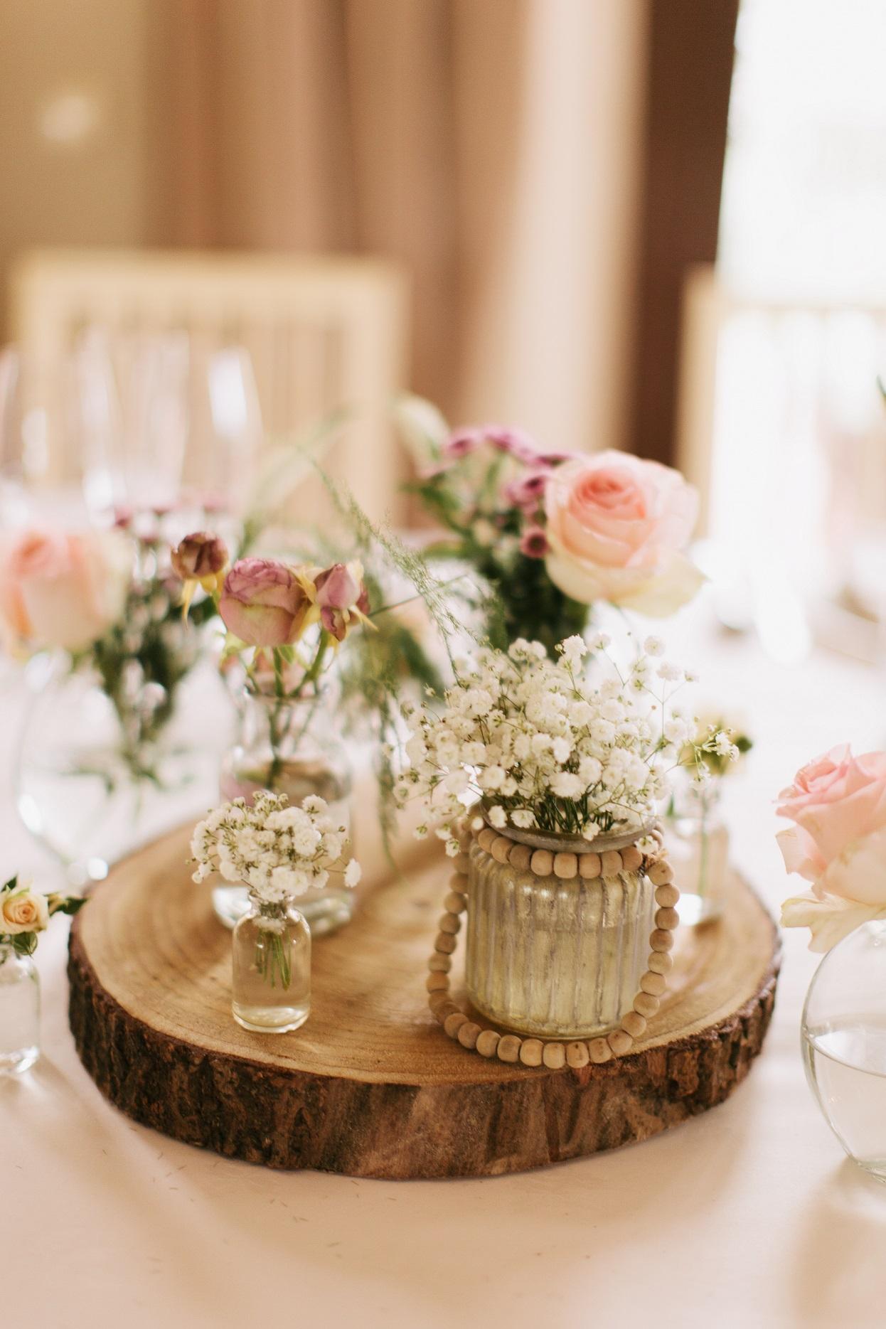 banquete de boda: la mesa