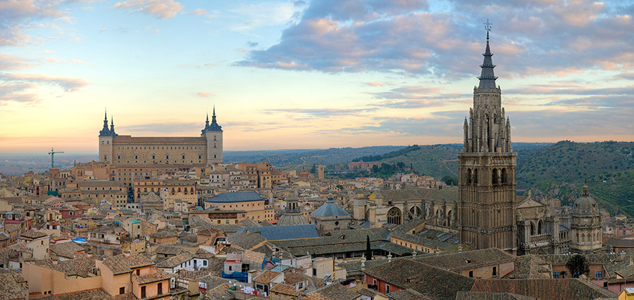 """Your wedding in Toledo is """"hattrick"""": tourism, culture, leisure and Madrid"""