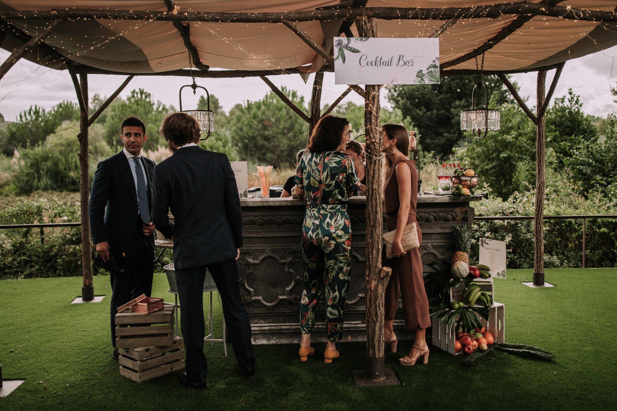 CIGARRAL DE LAS MERCEDES PRE-WEDDING POST WEDDING WEDDING VENUE SPAIN COCKTAIL PARTY