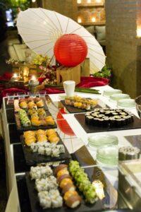 Sushi bar - Complementos para el aperitivo